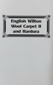 English Wilton Wool Carpet 11 and Hardura